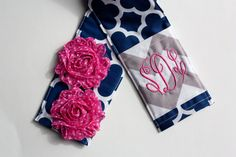 Shabby Chic Flowers! Monograms! Sweet Camera Strap Cover