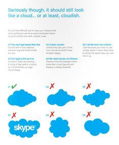 Skype logo guidelines