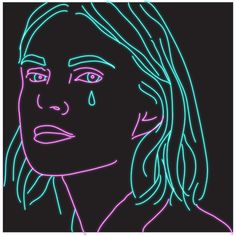 sad pop art GIF by Emma Darvick Arte Pop, Aesthetic Gif, Aesthetic Videos, Pop Art, Video Game Anime, Video Games, Grunge Art, Cartoon Gifs, Just For You