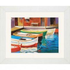 Canal Street Framed Art 38 X 46