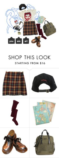 """""""Untitled #85"""" by ashlxighh ❤ liked on Polyvore featuring Stussy, A.P.C., Eos, Cavallini & Co. and Richmond"""