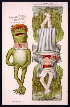 The Paper Collector: Animal Series of Paper Dolls, c. 1890s