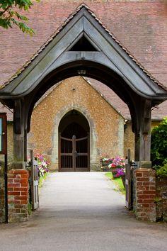 Church Lych Gate Entrance
