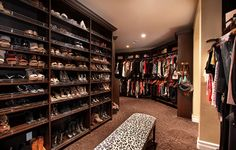 Mediterranean Closet by Canaday Group