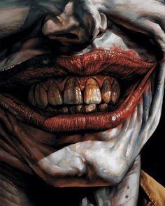 Smile! Art by Lee Bermejo