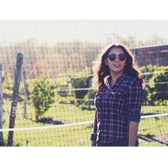 Plaid and denim Fall outfit for a day at the winery Ms. Westchester (@ms_westchester) • Instagram photos and videos