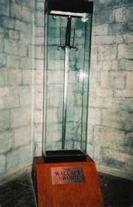 Sword of Sir William Wallace   amazing the sword was preserved thank goodness