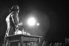 GMU Statue