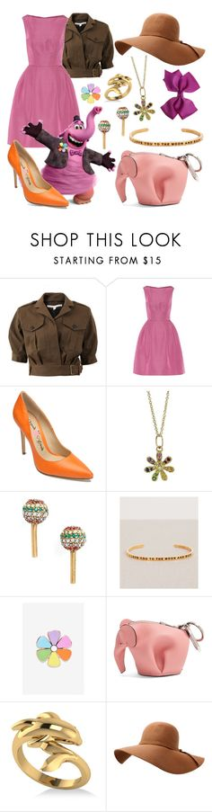 """Bing Bong"" by megdelaina ❤ liked on Polyvore featuring Veronica Beard, Carolina Herrera, Penny Loves Kenny, Sydney Evan, Marc Jacobs, MantraBand, Big Bud Press, Loewe and Allurez"