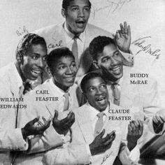 "The Chords, 1950s doo wop group, ""Sh-Boom"""