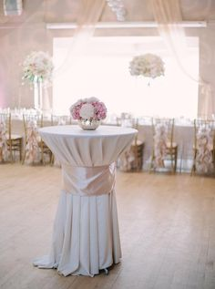 Blush, gold and ivory wedding floral decor by Akiko Floral Artistry Inc.  Photo credit:  Milton Photography.  #phalaenopsis #orchids #blush #gold #blushandgold #ivory #tulips #roses #peonies #hydrangea #centrepieces #flowers #wedding