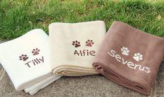 Personalised pet blankets