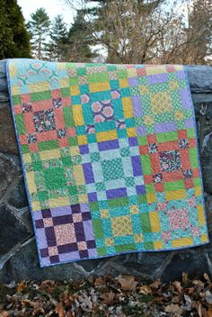Baby Quilt Or Crib Quilt Or Lap Quilt, Pattern Also