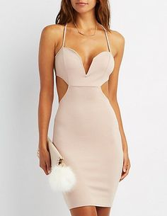 Cool Bodycon Dress Strappy Cut-Out Bodycon Dress Check more at http://shop24.tk/fashion/bodycon-dress-strappy-cut-out-bodycon-dress/