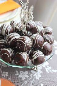 Trmisulu Çikolatalı Toplar