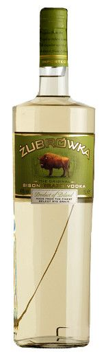 Zubrowka vodka. my ultimate favourite vodka. polish. mix it with apple juice, tastes EXACTLY like apple pie, crust, topping and all. MMMMMM....tasty