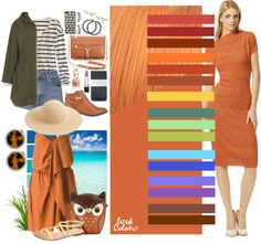 Светло — рыжий цвет интересен и для цветотипа «осень», если хотите свой образ приблизить к блондинке, так как на фоне классически светлых волос ваше лицо имеет красный оттенок, а это не считается привлекательным. Привлекательно со светло-рыжим: амарантовый, терракотовый, цвет ржавчины, светло-оранжевый, кирпичный, охра красная, абрикосовый, зелено-синий цвет, нефрит, зеленый чай, голубой, сине-фиолетовый, лавандовый, аметистовый, розово-коричневый, золотисто-каштановый.