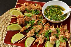 Thai Chicken Skewers Final