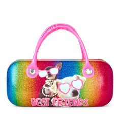 Girls Handle 'Best Friends' Sunglasses Dogs Sunglasses Case - Multi - The Children's Place