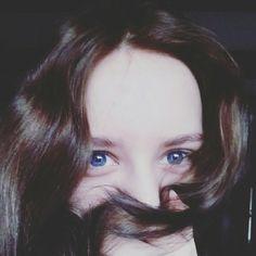 Nicole Bartkowiak brown hair blue eyes girl Poland