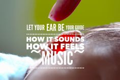 Your inner hearing. The sound is in the ears Amongst our five senses, the hearing is the most important. If the ear rebels, the other senses rebel. Scriptures, Ears, Let It Be, Feelings, Music, Movie Posters, Musica, Musik, Film Poster