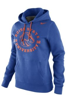 Boise State Broncos Womens School Stamp Sweatshirt