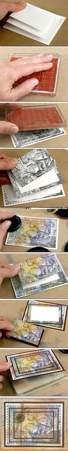 Card Making | Scrapbook Cards | Stamping | Creative Scrapbooker Magazine | stamping  #cards #stamping #scrapbooking #scrapbooktips