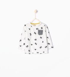 ZARA - COLLECTION AW15 - Geometric print T-shirt