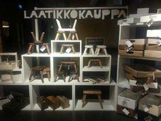 Pop up store in Korjaamo Helsinki Finland