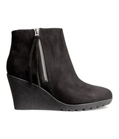 Wedge-heel Boots by H
