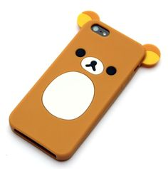 This is a new and Cute Rilakkuma Bear iPhone 5 case. Made of high quality soft material, Unique, innovative, absolutely on of a kind shatterproof. Brand new and ready to ship.