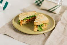 Maçã... Que Delícia!!!: Sanduíche de frango com maçã
