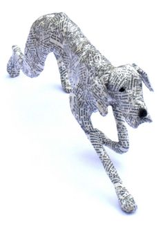 Pointer - The Paper Pack by Lorraine Corrigan at Stockbridge Gallery Dogs in Art