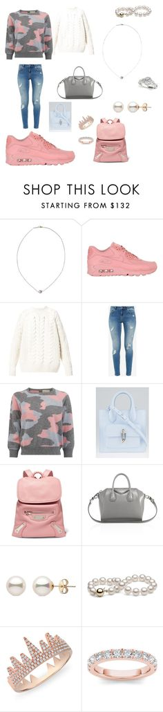 """""""Casual"""" by geekchic-4eva ❤ liked on Polyvore featuring Karapetyan, NIKE, Diesel, Ted Baker, Balenciaga, Givenchy, Anne Sisteron and Allurez"""