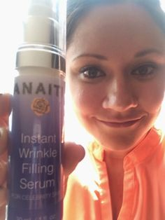 Is this new Instant Wrinkle Filling Serum an alternative to Botox? #Anaiti has formulated a state-of-the-art anti-aging serum that can fill wrinkles and fine lines instantly! #AdvancedSkinCare #AntiAging