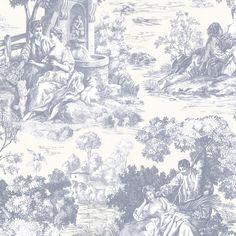 """Found it at Wayfair - 33' x 20.5"""" Benvolio Toile Wallpaper"""