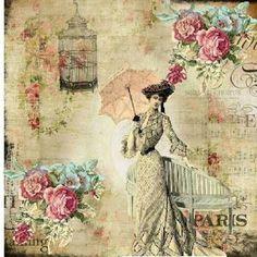 Resultado de imagen para ephemera's vintage garden love is chic free