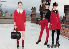 Les campagnes automne-hiver 2013-2014 Moschino