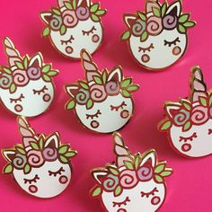 Hey, I found this really awesome Etsy listing at https://www.etsy.com/listing/517868129/unicorn-macaron-hard-enamel-pin-brooch