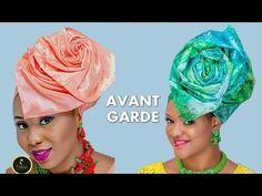 STEP BY STEP HOW TO TIE NIGERIAN YORUBA GELE TUTORIAL FOR BELLA NAIJA WEDDINGS - YouTube