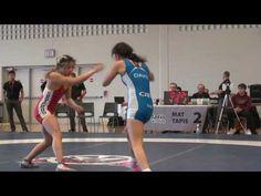 2016 ONT SR PROV FW48kg Jayd Davis (Impact) vs Natassya Lu (Guelph)