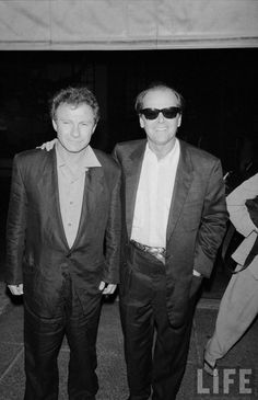 Harvey Keitel and Jack Nicholson