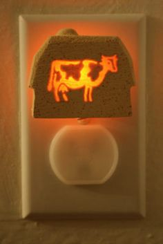 Holstein cow light Good for my cow kitchen