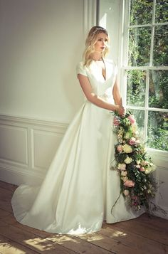 Charlotte Balbier 2016 Wedding Dresses — Willa Rose #Bridal Collection   itakeyou.co.uk #weddings #weddingdress #weddinggown
