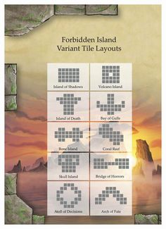 Hmm, going to try this to make Forbidden Island a little more exciting.