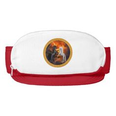 Horse fighting in a lighting storm visor - paper gifts presents gift idea customize