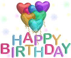 Glitter Birthday Wishes | ... Myspace Glitter Graphics - Happy Birthday Glitters - Myspace Comments
