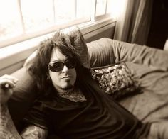 Nikki Sixx....he looks even better in person. Got to meet him and the rest of the Crüe. It was a great day!!