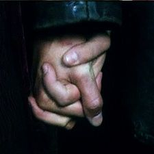 Nine Holding Rose's hand. <3 THis is absolutely beautiful.