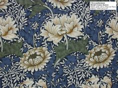 Historic Style - Chrysanthemum by William Morris